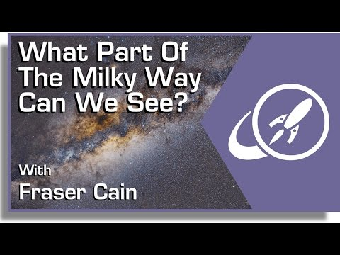 What Part of the Milky Way Can We See? - Universe Today