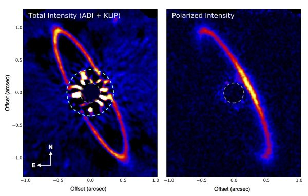 Dusty Baby Solar System Gives Clues On How Our Sun And ...