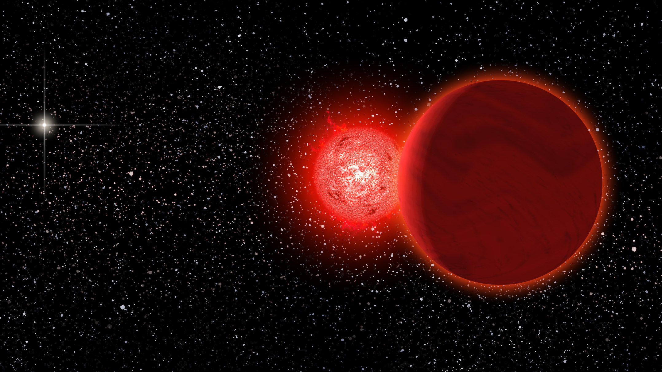 A Star Passed Through The Solar System Just 70 000 Years