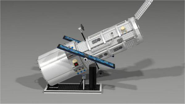 Sadly There wont be a LEGO Hubble Space Telescope
