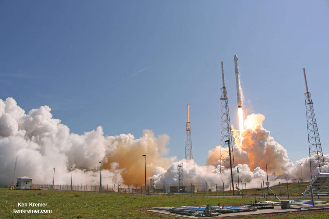 SpaceX Picks Up Launch Pace; Sets April 27 Commercial ...