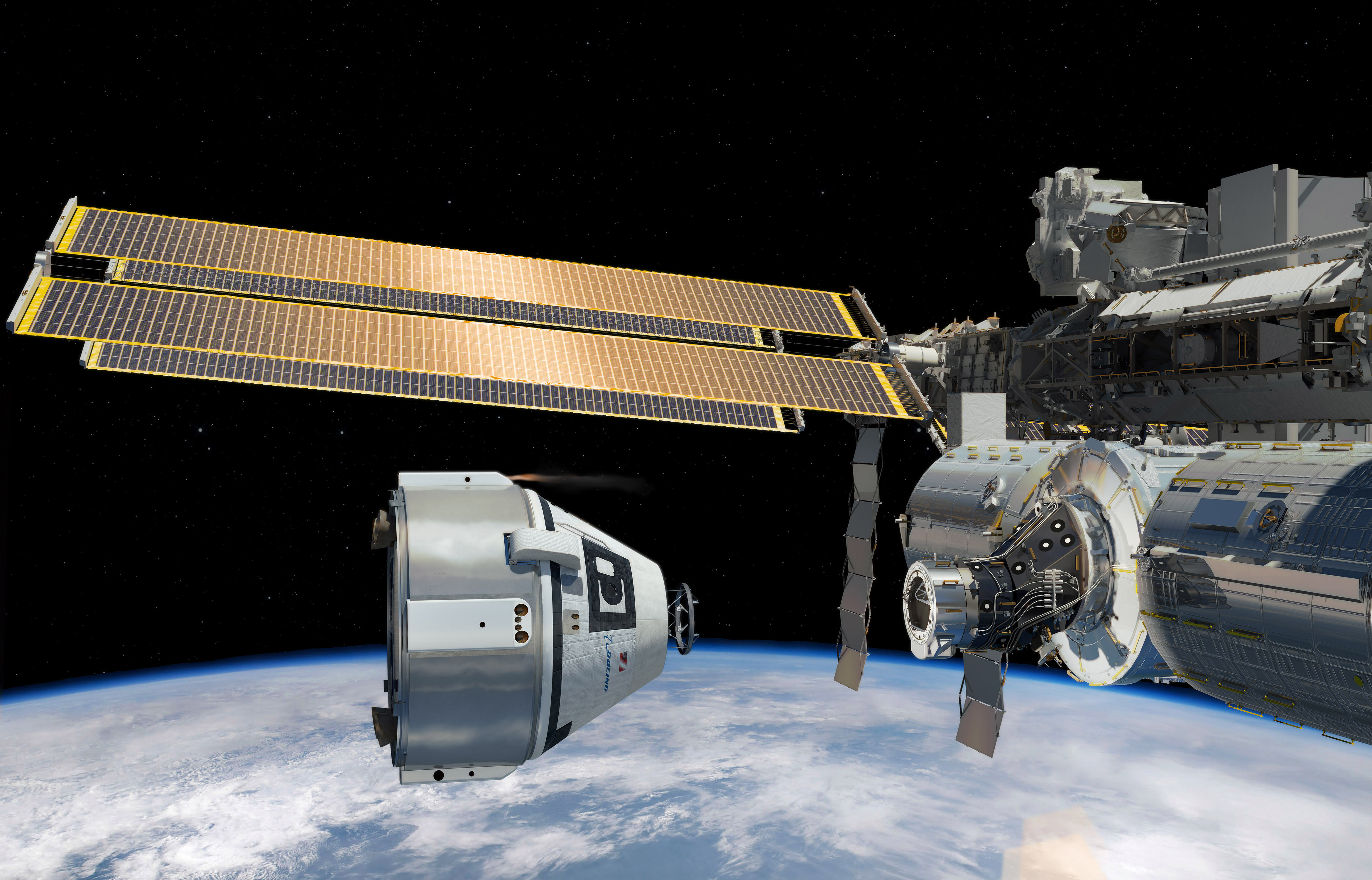 NASA Orders First Ever Commercial Human Spaceflight ...