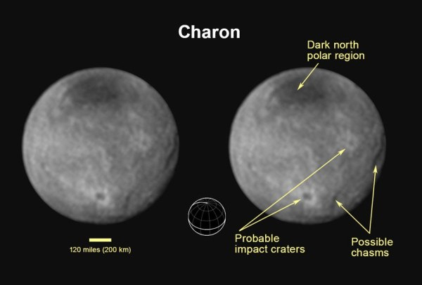 Charon Plutos Largest Moon Universe Today