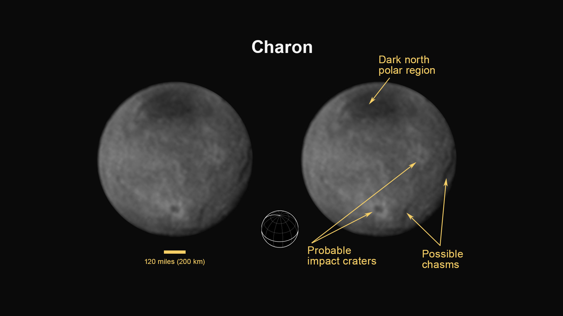 Charon Moon: Mysterious Mountain Revealed In First Close-up Of Pluto's