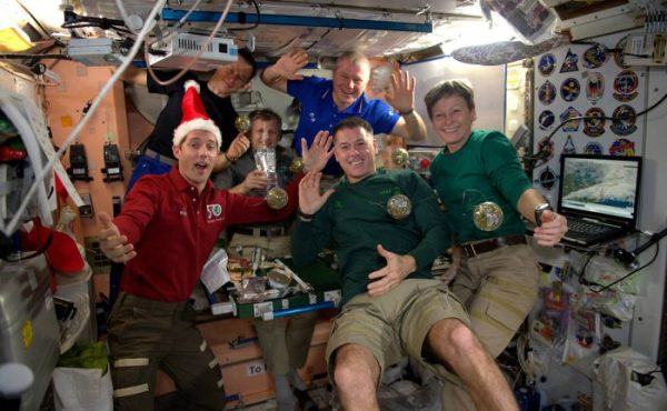 Merry Christmas From Space 2016 Universe Today