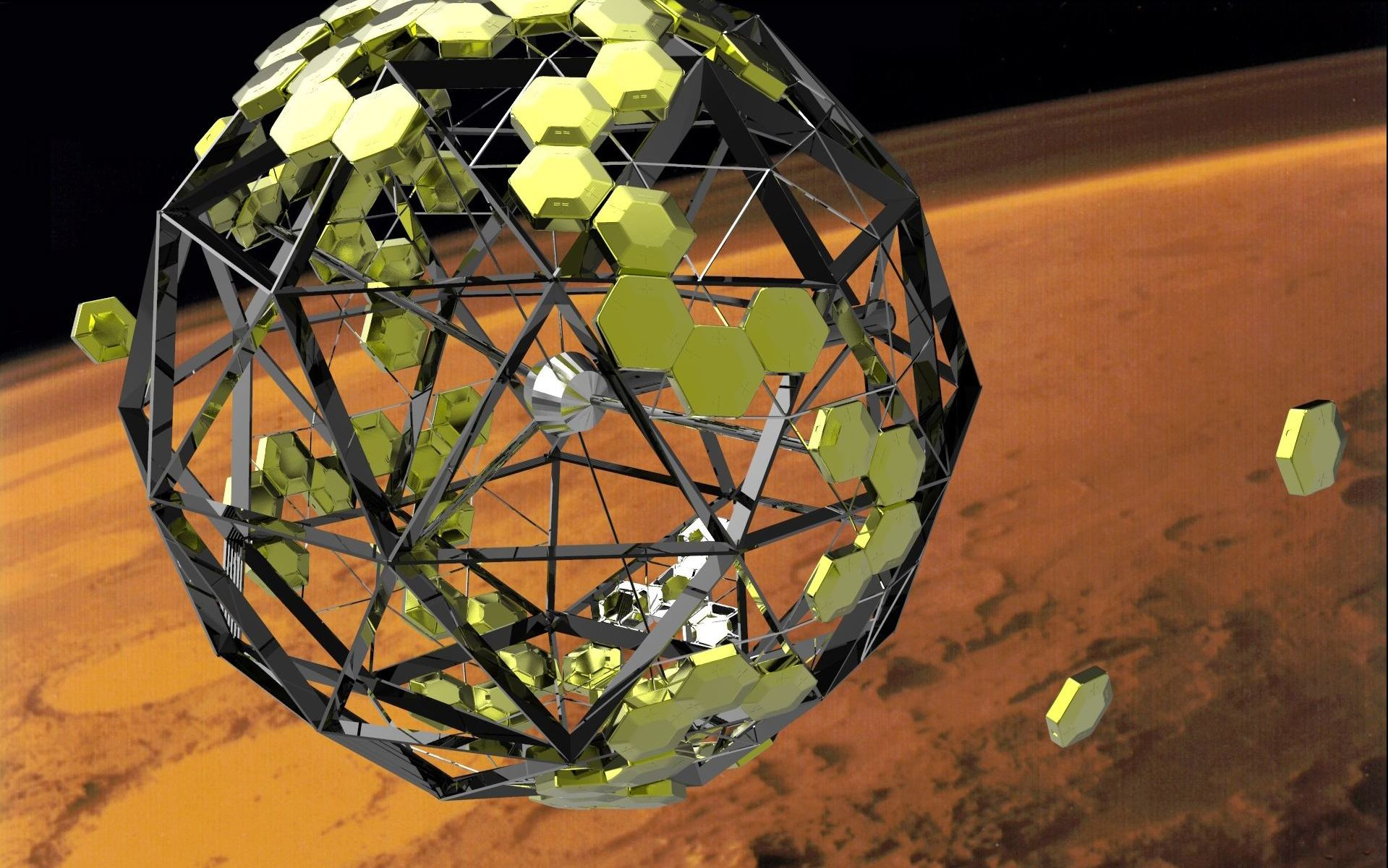 Plans For A Modular Martian Base That Would Provide Its