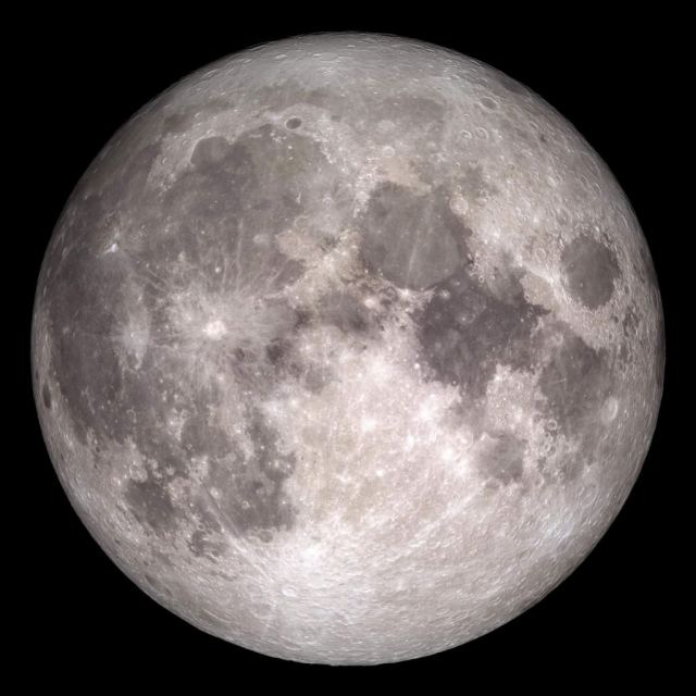 "We grow up looking at the Earth's moon, so we tend to think we know what a ""moon"" is. But there's no strict definition of the size range for moons. Image Credit: NASA / GSFC / Arizona State University"
