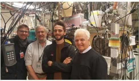 Image of the team that developed the trajectory research, as well as the lead DFD designer at PPPL.
