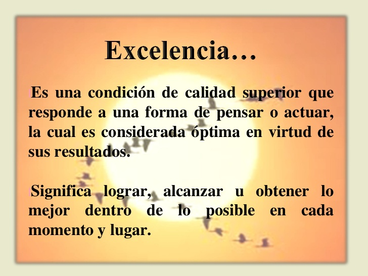 excelencia 2