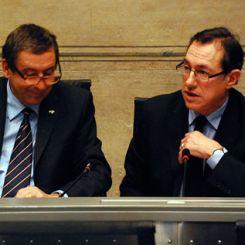 Francesco Profumo e Marco Mancini