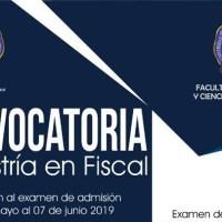 Abierta la Convocatoria 2020 para cursar la Maestría en Fiscal en la FCCA - UMSNH