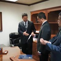 Consolida el Rector de la UMSNH, Cárdenas Navarro su gabinete