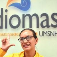 Taller sobre Lengua de Señas Mexicanas en el CADI - UMSNH