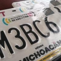 Solo cambio de imagen, no habrá nuevo reemplacamiento vehicular en Michoacán