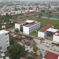 Por negligencia, la Constructora HM contratada por el IIFEEM deja sin agua a Ciudad Universitaria