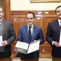Firman el Gobierno de Michoacán y el Gobierno Federal la Federalización de la Nómina Educativa