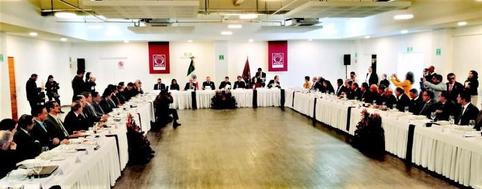 Reunión ANUIES-SEP-Legisladores a fin de trazar ruta de gestión en temas de educació superior pública en México
