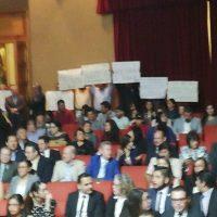Revienta el SUEUM el evento de la Entrega de la Presea Ignacio Chávez a los estudiantes mas destacados de posgrado nicolaita