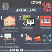 La UMSNH, presente en la campaña de Prevención y Contención del COVID-19