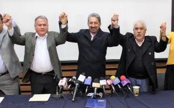 TODOS FESTEJABAN: En diciembre del 2018, se festejaba la firma del acuerdo por 500 millones entre la SEP y la UMSNH.