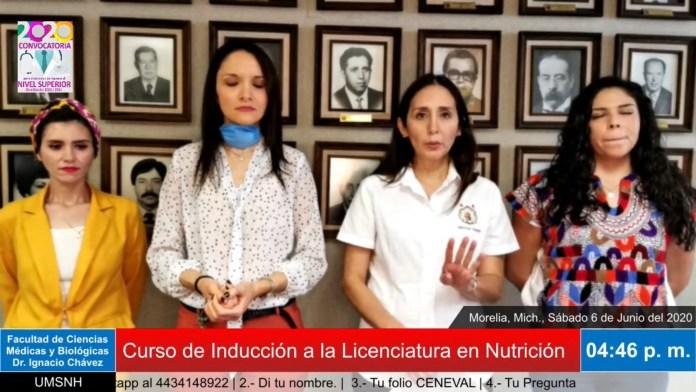 Curso de Inducción a la licenciatura en nutrición.