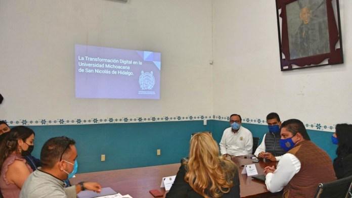 Educación a Distancia se convierten en Los Nodos de Transformación Digital de la UMSNH.