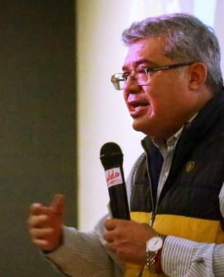 Mtro. Juan Antonio Magaña de la Mora, Magistrado presidente del Supremo Tribunal de Justicia del Estado de Michoacán