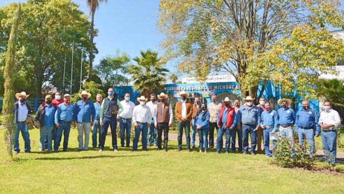 La Unión Ganadera Regional de Michoacán cuenta con más de 30 mil afiliados con presencia en 109 municipios del estado de Michoacán