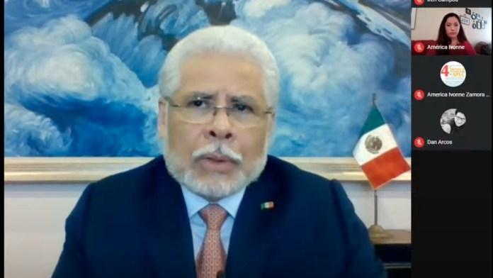 El Embajador de México en China, José Luis Bernal Rodríguez