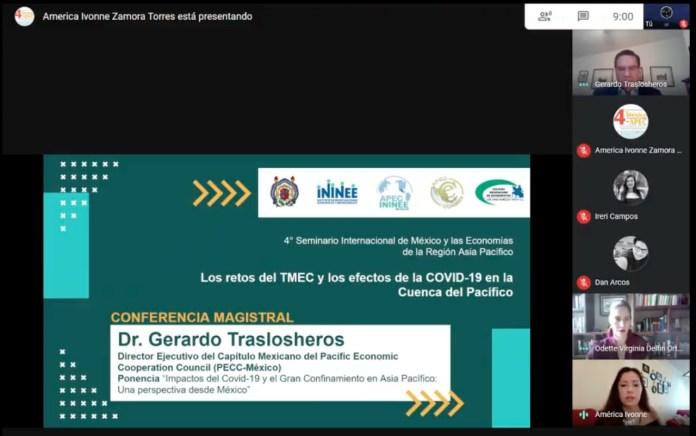 Los retos del TMEC y los efectos de la COVID-19 en la Cuenca del Pacífico.