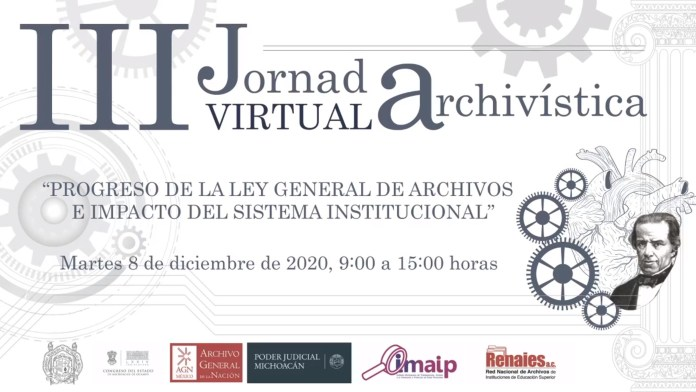 III Jornada Virtual Archivística en la UMSNH