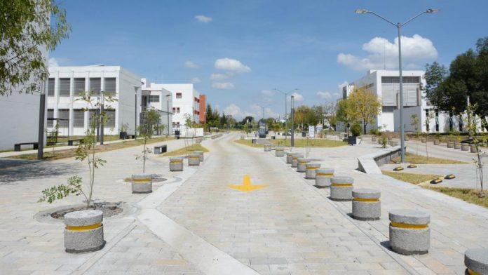 Terminación de la zona MULTIDES en Ciudad Universitaria
