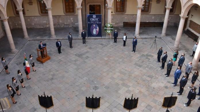 La UMSNH honra la memoria de Don Vasco de Quiroga