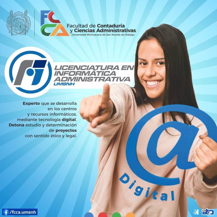 Licenciatura en informática administrativa   FCCA - UMSNH