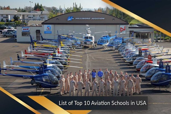 List of Top 10 Aviation Schools in USA | Contact & Address