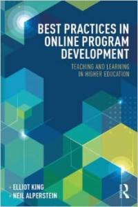 Book Cover of Best Practices in Online Program Development