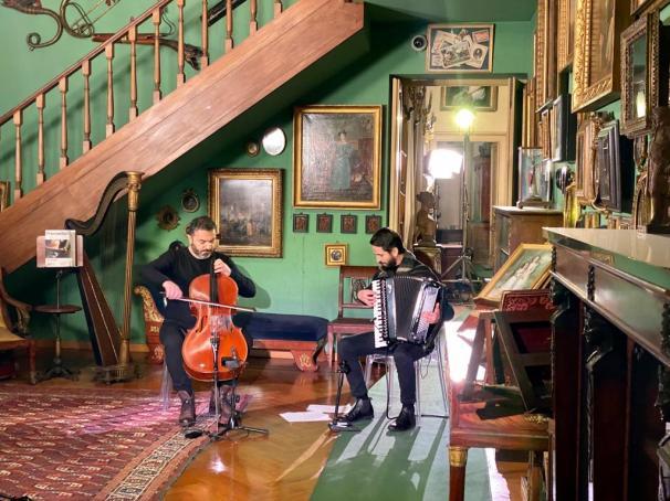 Concert at Mario Praz Museum, Rome