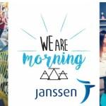 La santé et le bien-être au travail chez Janssen avec  « We are Morning » !