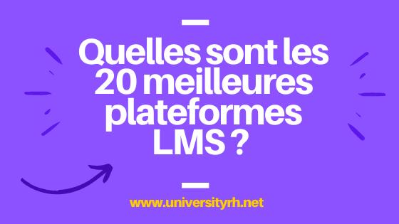 20 meilleures plateformes LMS