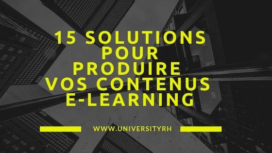 Panorama des principales solutions LCMS et Outils Auteur
