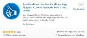 Easy Facebook Likebox