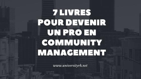 7 livres pour devenir un pro en community management