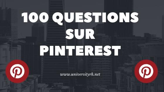 100 questions - Pinterest