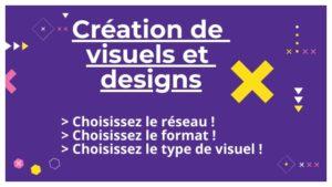 Création de visuels et designs