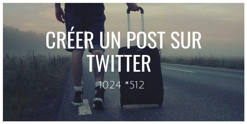 Créer un Post sur Twitter