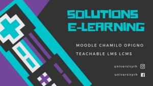 Creation de solutions E-learning-universityrh
