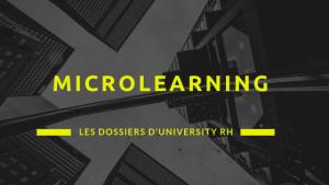 dossier universityrh - Microlearning