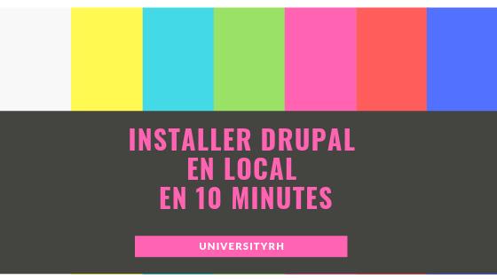 installer drupal en local wamp