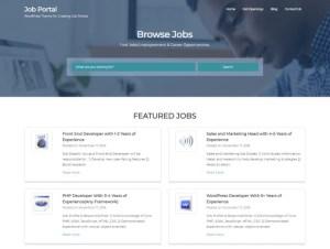 Créer un site RH ou site Carrières avec WordPress : Job Portal