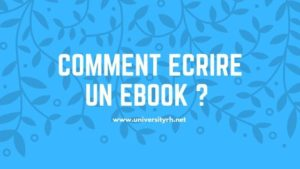 Etape 3 Comment écrire un Ebook